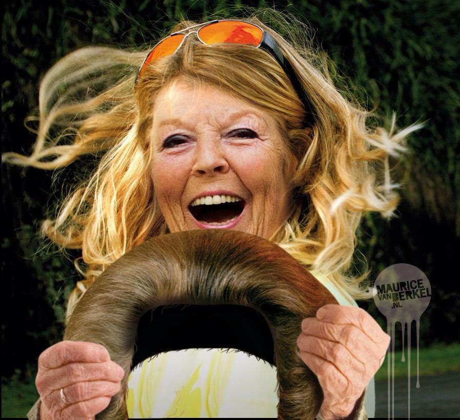 Aftreden Beatrix is om te lachen