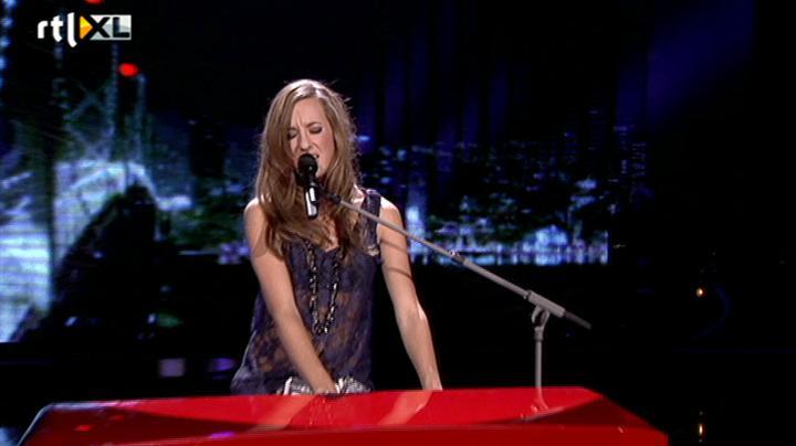 Voice of Holland - Kim de Boer - Roxanne - Liveshow